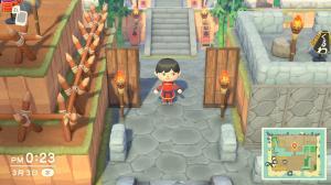 飯盛城入り口
